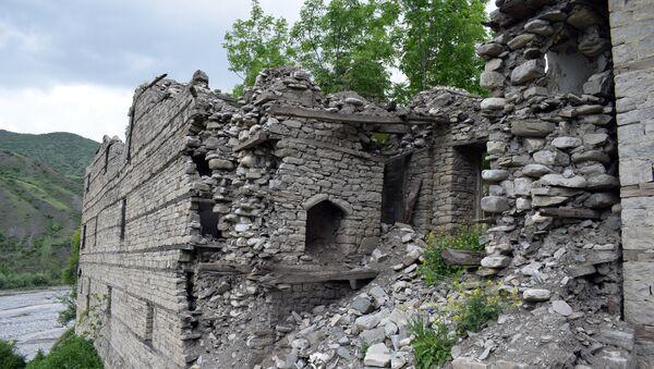 Дом Гаджи Паши в поселке Лагидж - Sputnik Азербайджан