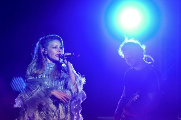 Концерт Тины Кароль на сцене Зеленого театра в Баку - Sputnik Азербайджан