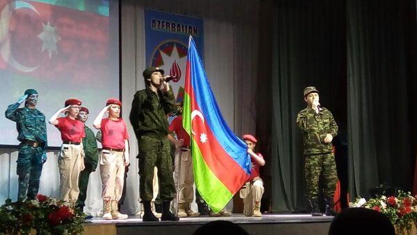 В России отметили 100-летие Азербайджанской Демократической Республики грандиозным концертом - Sputnik Азербайджан