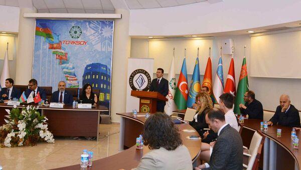 100-летнюю годовщину образования Азербайджанской Демократической Республики отметили в штаб-квартире ТЮРКСОЙ - Sputnik Азербайджан