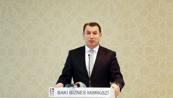 İqtisadiyyat nazirinin müavini Sahib Məmmədov - Sputnik Azərbaycan
