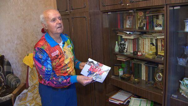 80-летний волонтер ЧМ-2018 - Sputnik Азербайджан