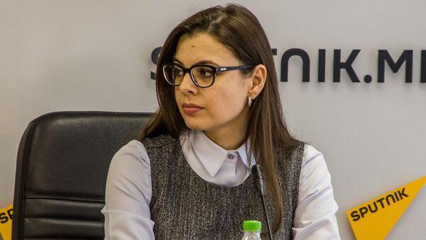 Анна Болокан - Sputnik Азербайджан