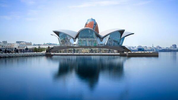 Caspian Waterfront - Sputnik Азербайджан