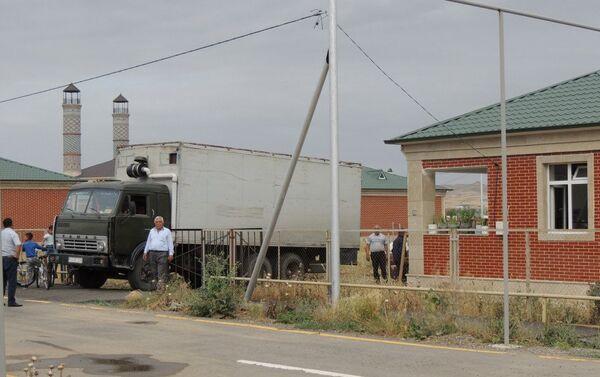 Переселение жителей села Джоджуг Мерджанлы Джебраильского района - Sputnik Азербайджан