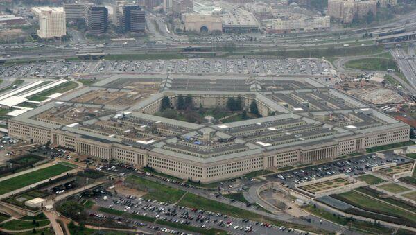 Здание Пентагона в Вашингтоне - Sputnik Азербайджан