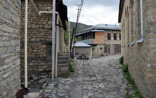 Работы по газификации села Лагидж Исмаиллинского района - Sputnik Азербайджан