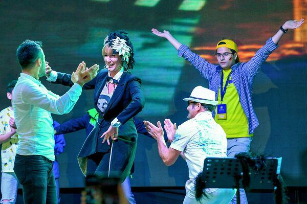 Концерт итальянской певицы In-Grid на EuroVillage 2018 в Баку - Sputnik Азербайджан