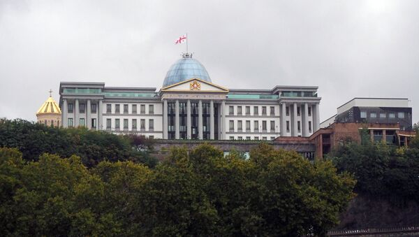 Президентский дворец в Тбилиси - Sputnik Azərbaycan