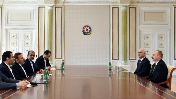 Президент Ильхам Алиев принял руководителя Аппарата Президента Ирана - Sputnik Азербайджан