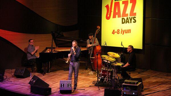 B Международном центре мугама состоялось открытие международного проекта Baku Summer Jazz Days - Sputnik Азербайджан