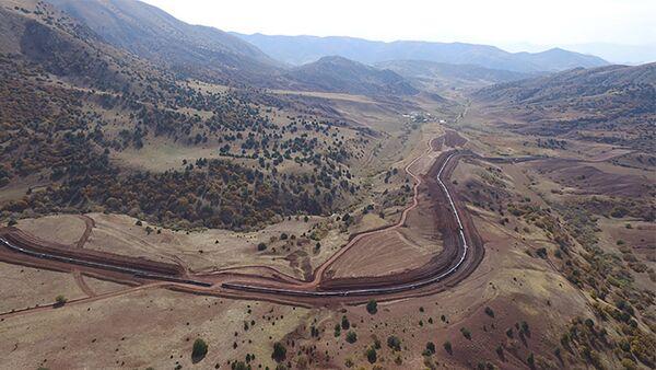 Строительство Трансанатолийского газопровода - Sputnik Azərbaycan