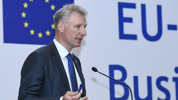 Посол ЕС в Азербайджане Кестутис Янкаускас  - Sputnik Азербайджан