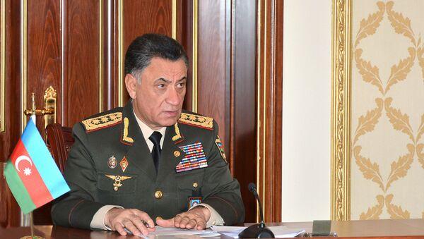 Daxili işlər naziri Ramil Usubov - Sputnik Азербайджан