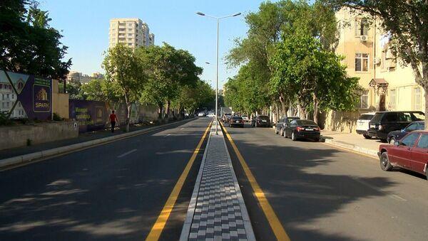 Улица Тебриз после реконструкции - Sputnik Азербайджан