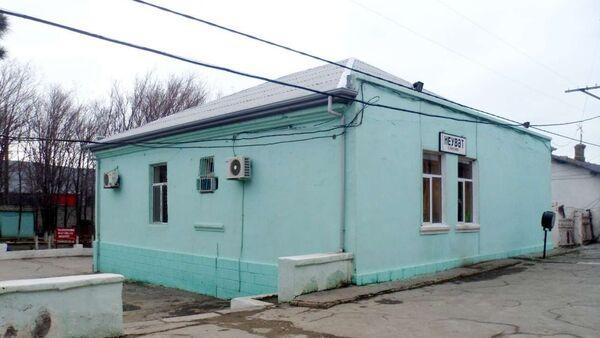 Железнодорожная станция Эйбат, фото из архива - Sputnik Азербайджан