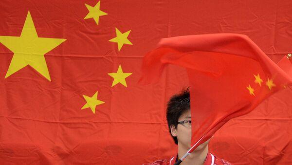 Çin bayrağı - Sputnik Azərbaycan