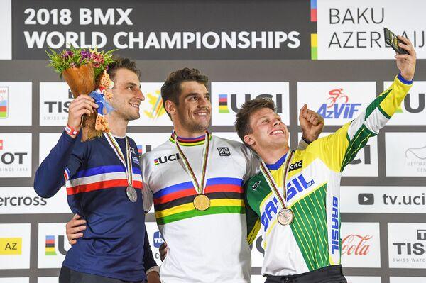 Чемпионат мира по ВМХ в Баку - Sputnik Азербайджан