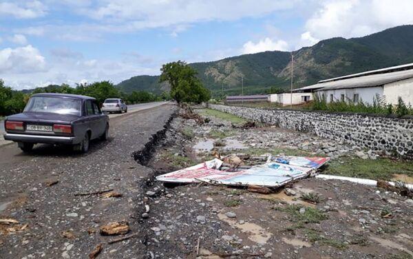 Ливень нанес ущерб Балакенскому району - Sputnik Азербайджан
