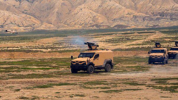 Ракетные подразделения провели практические стрельбы - Sputnik Азербайджан