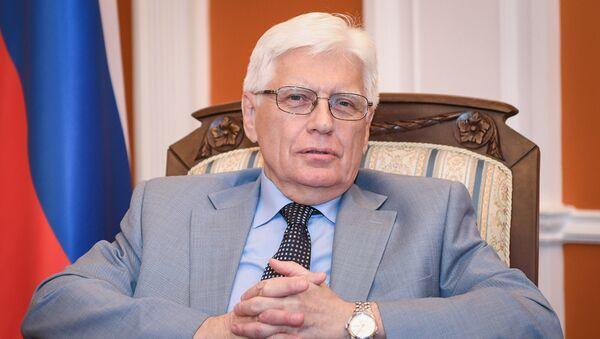 Посол России в Азербайджане Михаил Бочарников - Sputnik Azərbaycan