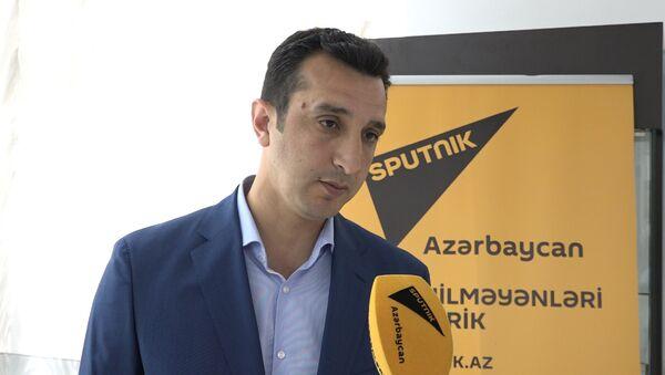 Азербайджанский вратарь: ЧМ-2018 вдвойне важен и для нас - Sputnik Азербайджан
