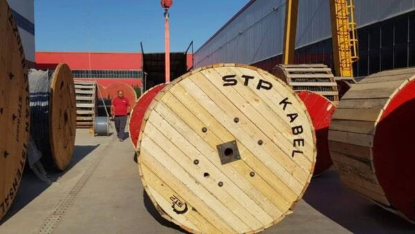 STP kabel zavodu - Sputnik Azərbaycan