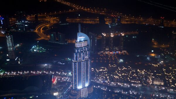 Вид на ночной Дубай, фото из архива - Sputnik Азербайджан