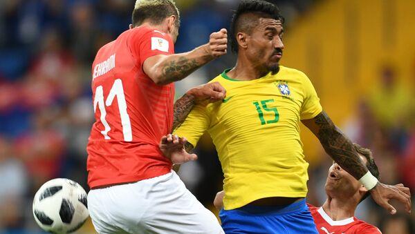 Матч между сборными Бразилии и Швейцарии - Sputnik Азербайджан