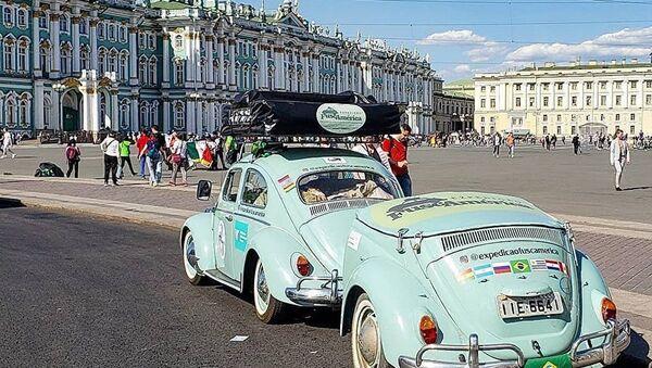 Бразилец приехал на ЧМ на Жуке - Sputnik Азербайджан