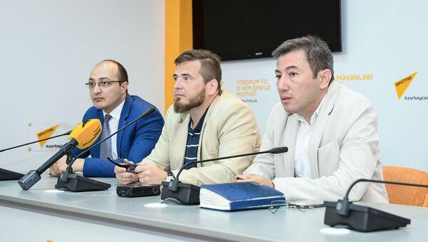 Пресс-конференция на тему Внешняя политика России на новом треке: что она принесет Южному Кавказу - Sputnik Азербайджан