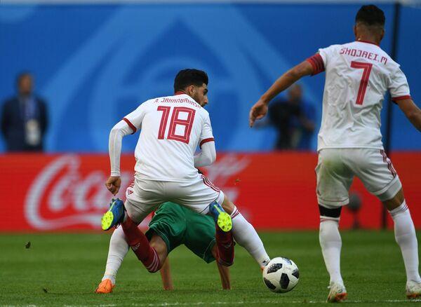 Матч группового этапа чемпионата мира по футболу между сборными Марокко и Ирана - Sputnik Азербайджан