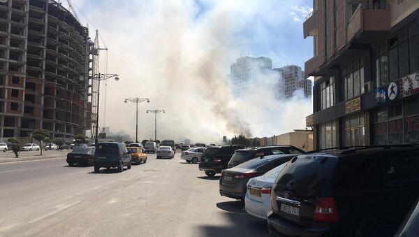 Дым от пожара, архивное фото - Sputnik Азербайджан