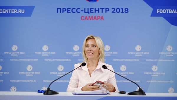 Официальный представитель министерства иностранных дел РФ Мария Захарова - Sputnik Азербайджан