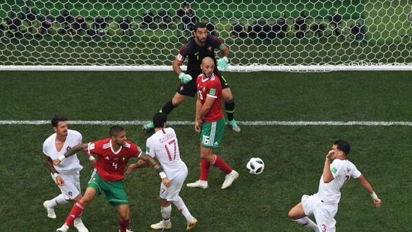 Футбол. ЧМ-2018. Матч Португалия - Марокко - Sputnik Azərbaycan