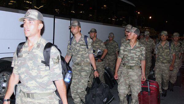 Визит военнослужащих ВС Турции в Азербайджан - Sputnik Азербайджан