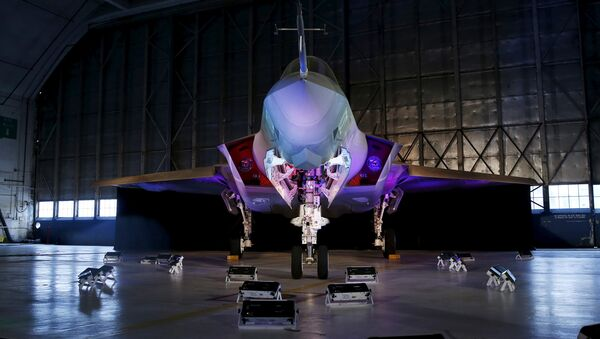 Истребитель Lockheed Martin F-35, фото из архива - Sputnik Азербайджан