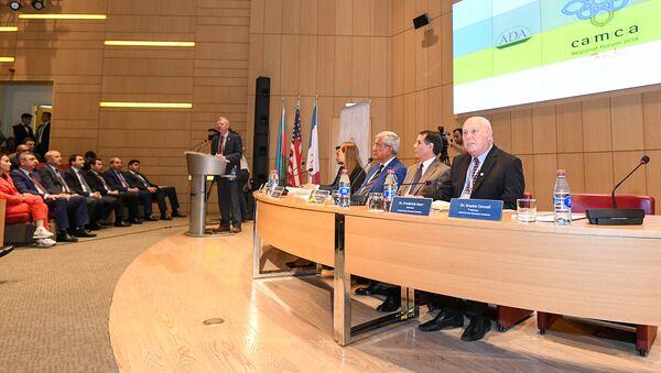 CAMCA Forumunun açılış mərasimi - Sputnik Azərbaycan