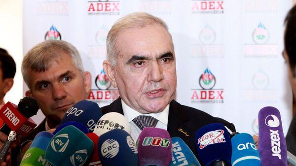 Министр оборонной промышленности Азербайджана Явер Джамалов - Sputnik Азербайджан
