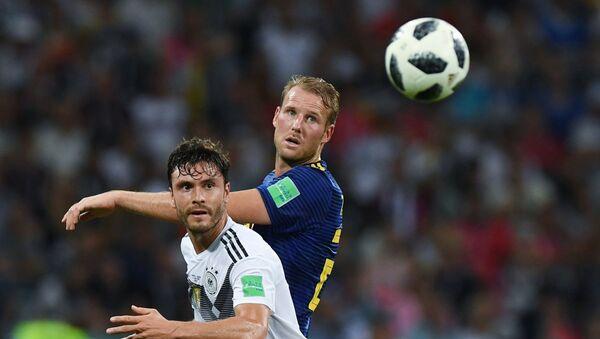 Футбол. ЧМ-2018. Матч Германия - Швеция - Sputnik Azərbaycan