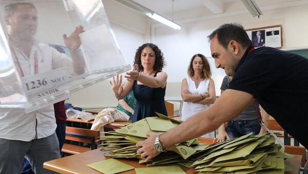 Президентские выборы в Турции - Sputnik Azərbaycan