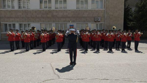 Военный оркестр АР сыграл для Sputnik Азербайджан - Sputnik Азербайджан