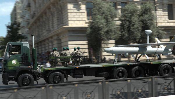 Вся азербайджанская мощь: в Баку показали новую военную технику - Sputnik Азербайджан