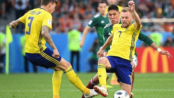 Матч Швеция-Мексика, ЧМ-2018 - Sputnik Азербайджан