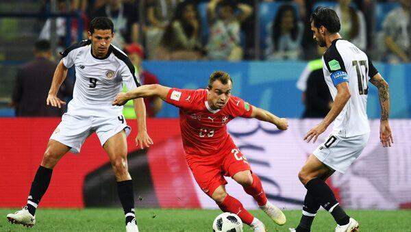 Футбол. ЧМ-2018. Матч Швейцария - Коста-Рика - Sputnik Азербайджан