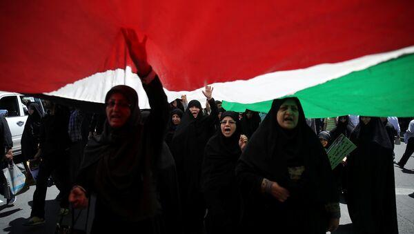 Протесты в Тегеране, Иран, 8 июня 2018 года - Sputnik Азербайджан