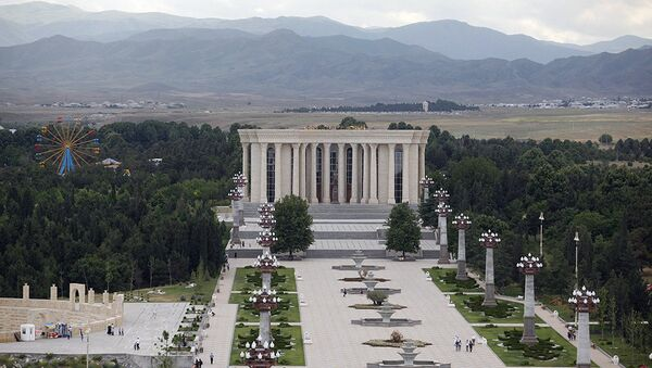 Парк в городе Гянджа - Sputnik Азербайджан