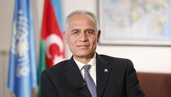 Резидент-координатор ООН в Азербайджане Гулам Исхакзаи - Sputnik Азербайджан