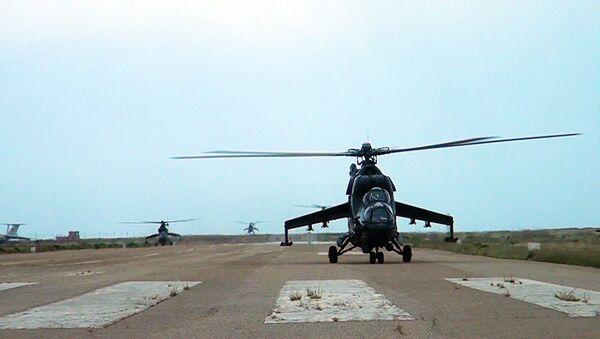 Перегруппировка боевых авиационных средств, участвующих в учениях. - Sputnik Азербайджан