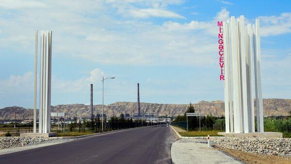 Mingəçevir şəhəri - Sputnik Azərbaycan